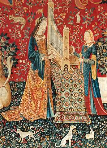 Art du quotidien la tapisserie - Tapisserie dame a la licorne ...