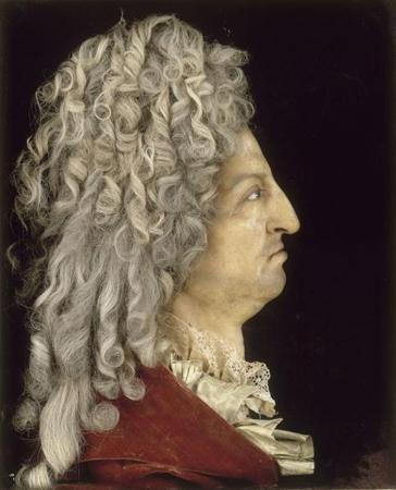 Portrait en buste de Louis XIV d'Antoine Benoist