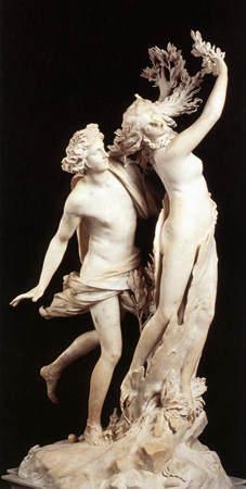 La nymphe Daphné ou la couronne de laurier d'Apollon Apollonetdaphne