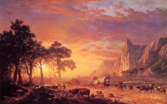 Albert Bierstadt Pistedeloregon