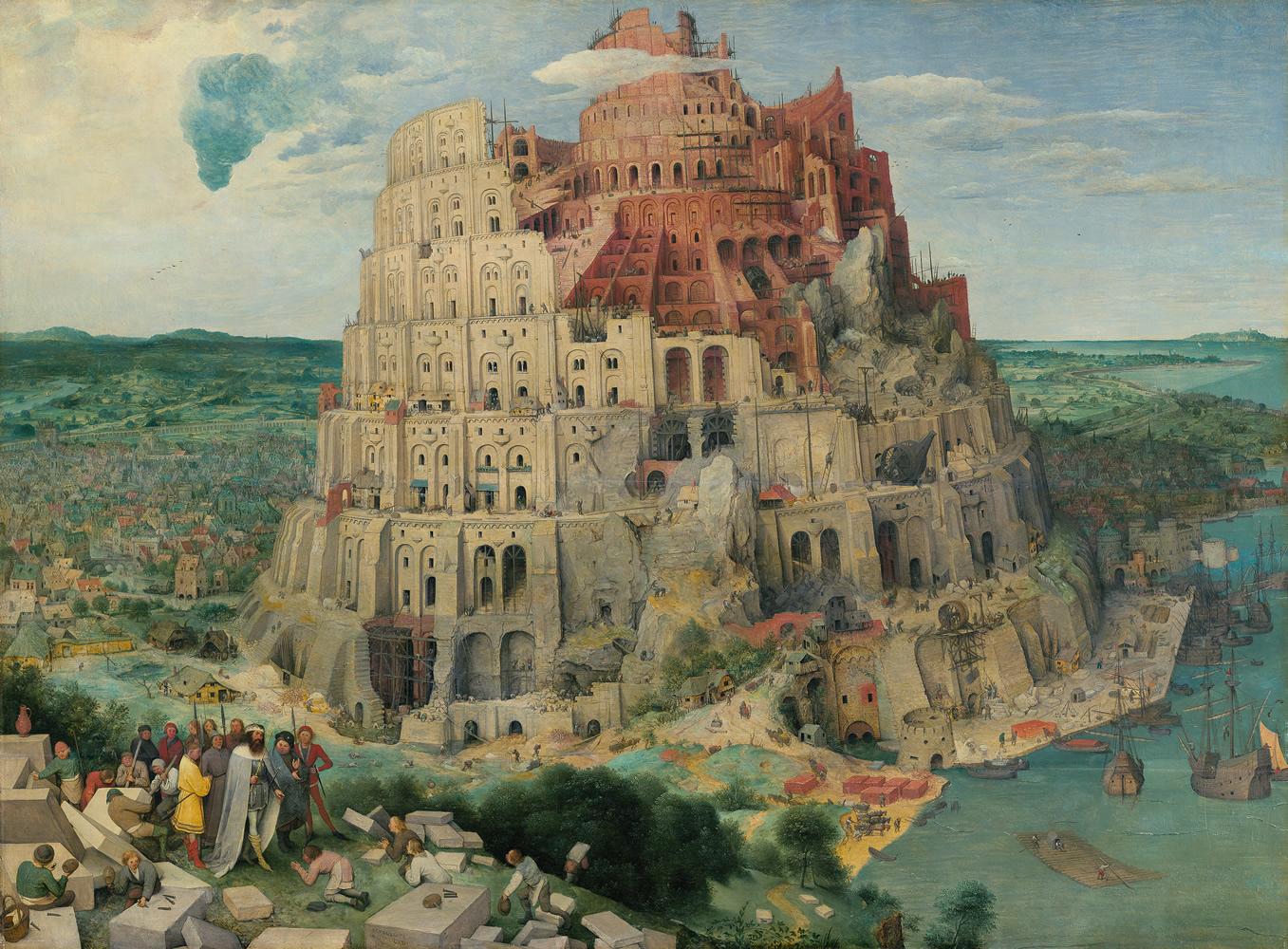 Image result for tour de babel bruegel