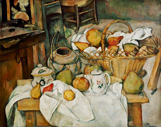 La table de cuisine de paul c zanne - Arte la cuisine des terroirs ...