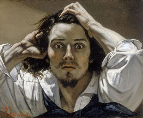 Le désespéré de Gustave Courbet