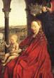 La vierge au chancelier Rollin de Van Eyck
