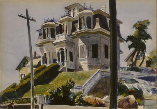 La maison des haskell d 39 edward hopper - Edward hopper maison ...