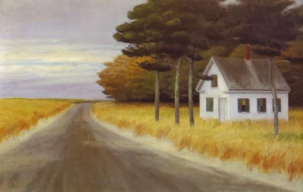 Solitude Edward Hopper, 1944 Huile sur toile 81 x 127 cm Collection particulière