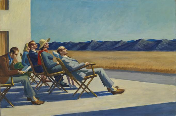 Bien-aimé Edward Hopper XZ24