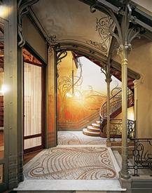L 39 h tel tassel de victor horta - Art nouveau architecture de barcelone revisitee ...