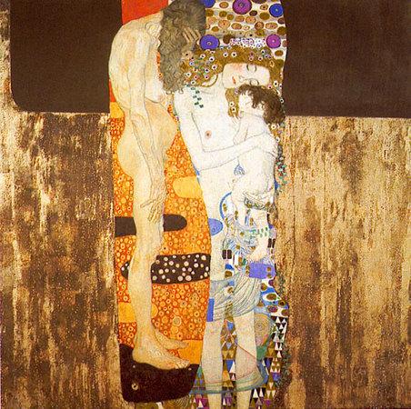 Le Baiser de Gustav Klimt Troisagesdelafemme