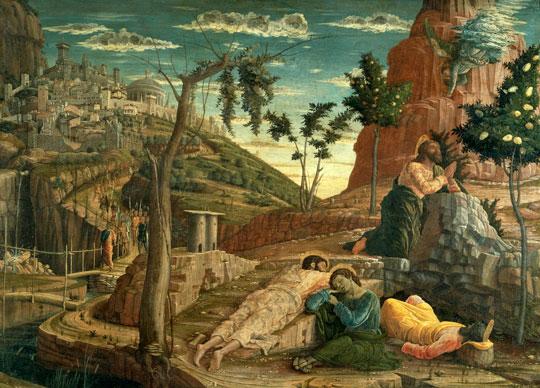 la pri re au jardin des oliviers de andrea mantegna