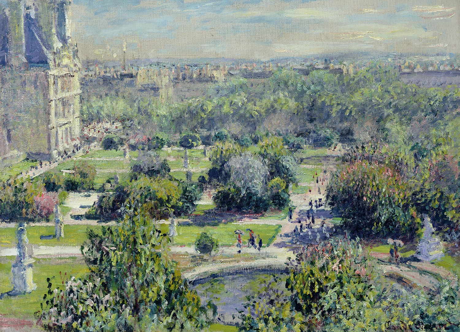 Tuileries de Claude Monet