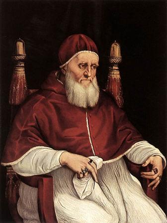 Raphaël, peintre de la renaissance italienne, appelé à Rome par le pape Jules II (2/2 ...