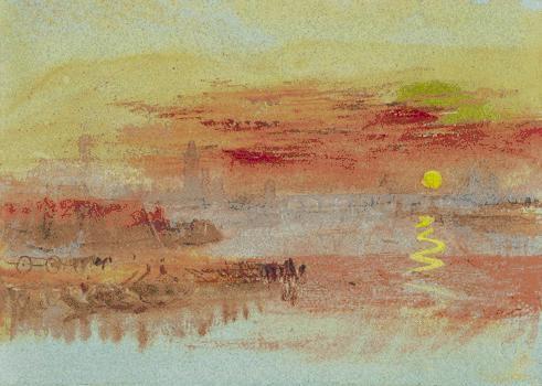 Scarlet Sunset de William Turner