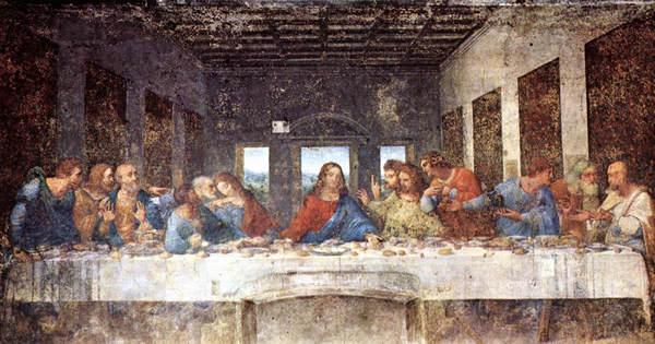 La Derniere Cene De Leonard De Vinci